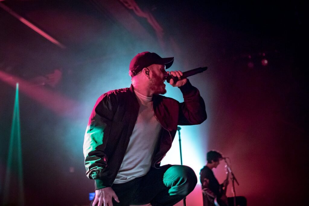 We Came as Romans perform at the Marquee Theater in Tempe, AZ on March 29, 2019. Photo by Brent Hankins.