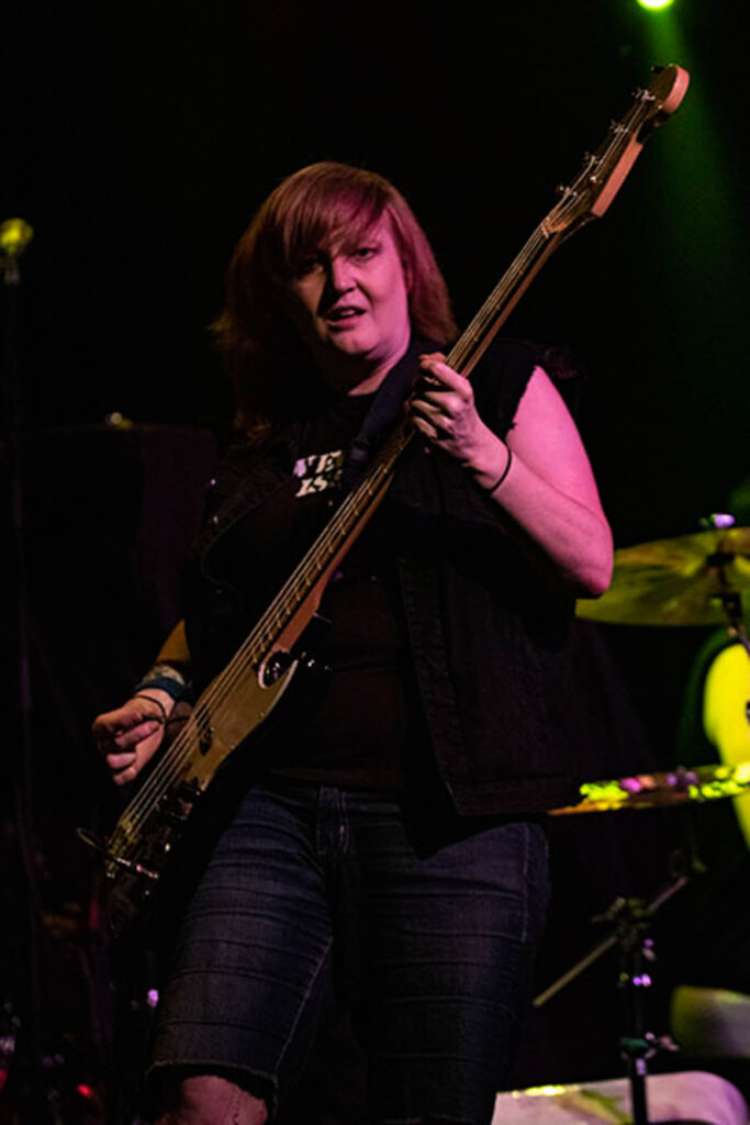 War on Women performs at The Varsity in Baton Rouge, Louisiana on August 4, 2019. Photo by Amy Breaux.