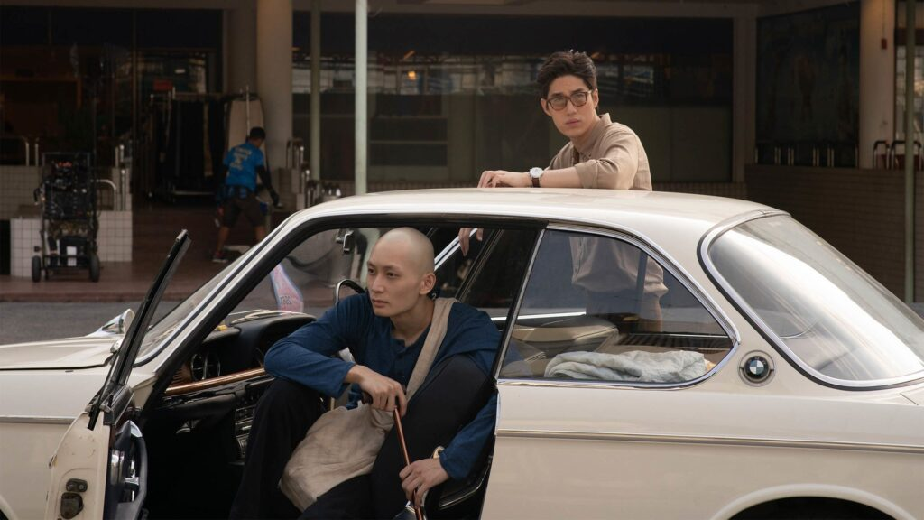 Tor Thanapob and Ice Natara appear in One for the Road by Baz Poonpiriya, an official selection of the World Cinema Dramatic Competition at the 2021 Sundance Film Festival. Courtesy of Sundance Institute.